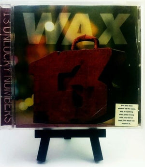 Wax - 13 Unlucky Numbers CD CDs - Iconic Relics