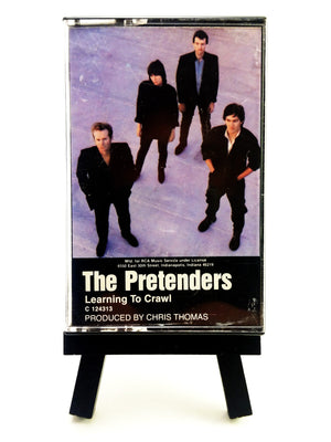 The Pretenders - Learning To Crawl Cassette Tape Cassettes - Iconic Relics