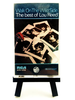 Lou Reed - Walk on the Wild Side (Best of Lou Reed) Cassette Tape Cassettes - Iconic Relics