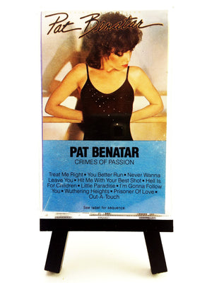 Pat Benatar - Crimes of Passion Cassette Tape Cassettes - Iconic Relics