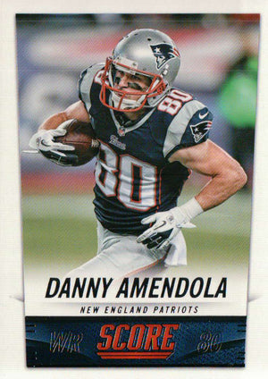 2014 Score - Danny Amendola #129 - Iconic Relics - Football Cards