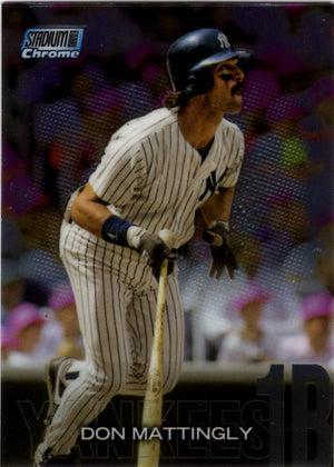 2018 Stadium Club - Don Mattingly (Chrome Parallel) #SCC-171 Baseball Cards - Iconic Relics