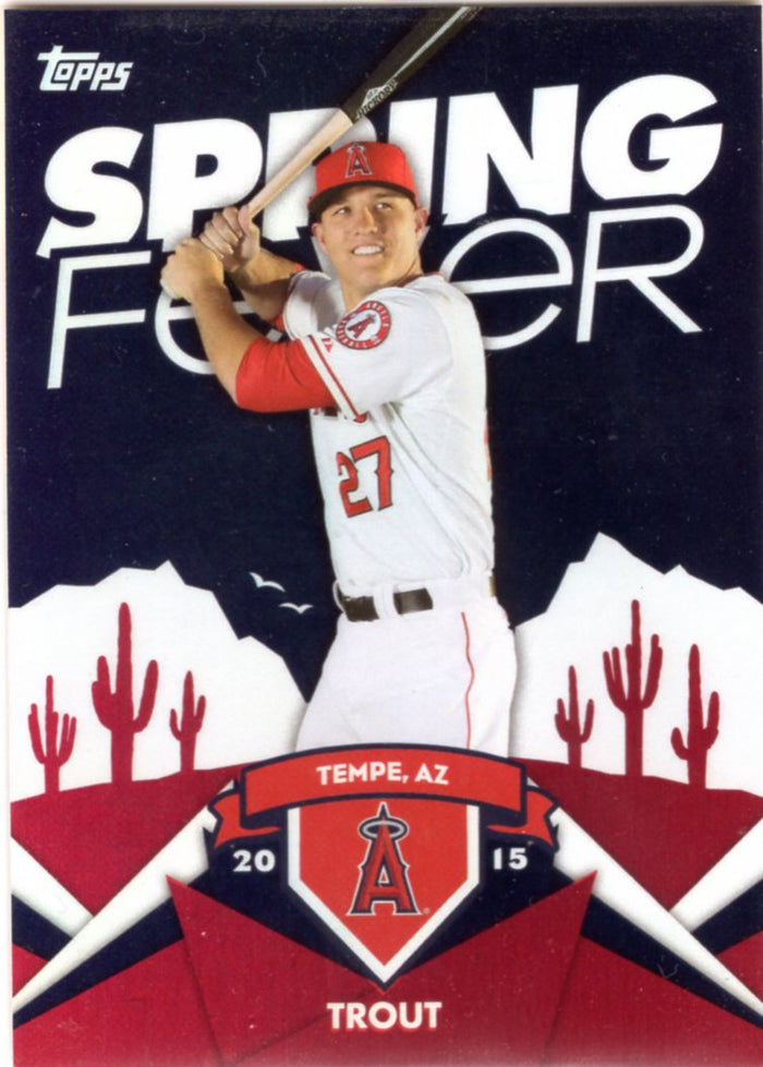 2015 Topps Spring Fever - Mike Trout #SF-2