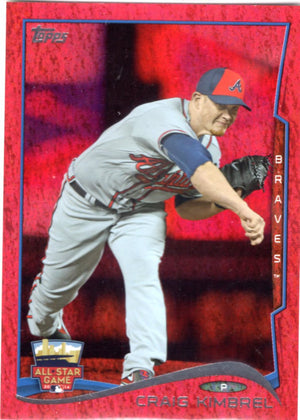 2014 Topps *Red Hot Foil Parallel* - Craig Kimbrel #US-259 - Iconic Relics - Baseball Cards