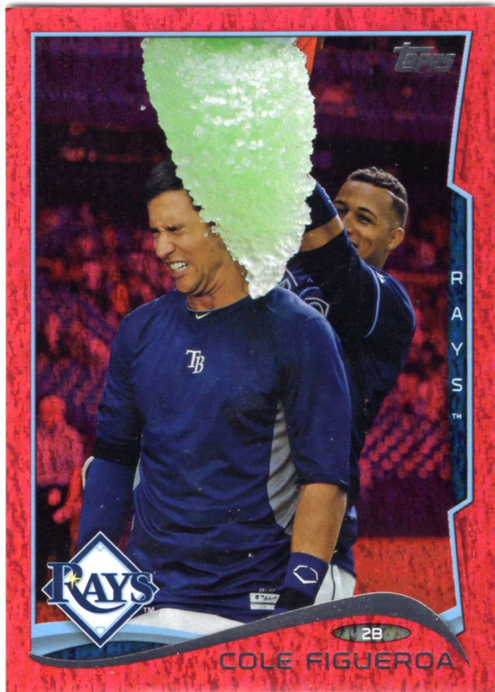 2014 Topps *Red Hot Foil Parallel* - Cole Figueroa #US-203