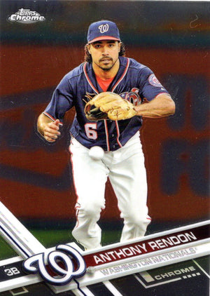 2017 Topps Chrome - Anthony Rendon #71 - Iconic Relics