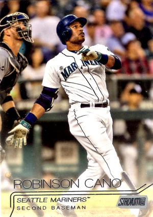 2015 Stadium Club - Robinson Cano #16 - Iconic Relics - Baseball Cards