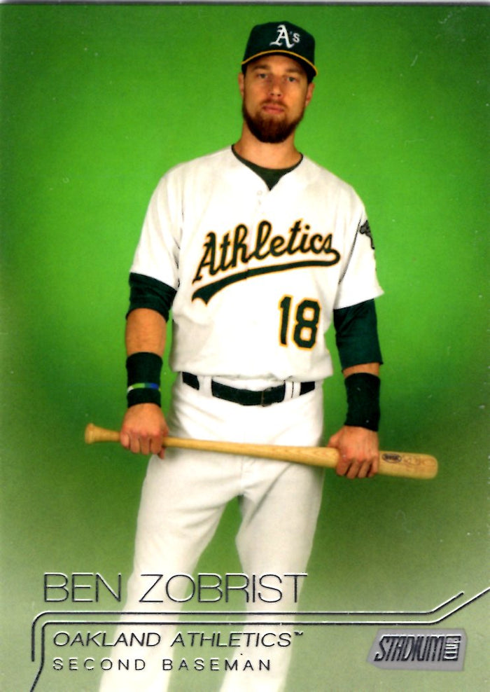 2015 Stadium Club - Ben Zobrist #138