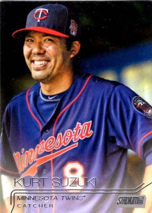 2015 Stadium Club - Kurt Suzuki #49 - Iconic Relics
