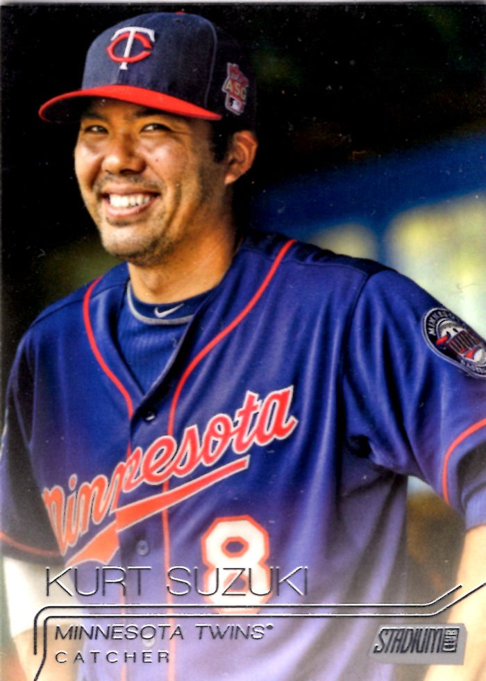 2015 Stadium Club - Kurt Suzuki #49