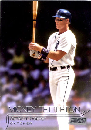 2015 Stadium Club - Mickey Tettleton #143 - Iconic Relics - Baseball Cards