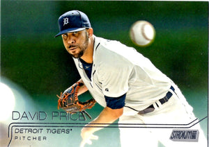 2015 Stadium Club - David Price #109 - Iconic Relics - Baseball Cards