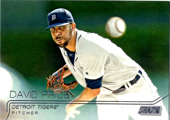 2015 Stadium Club - David Price #109