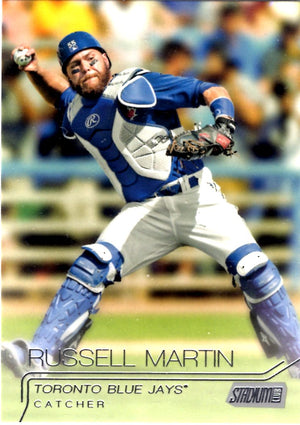 2015 Stadium Club - Russell Martin #271 - Iconic Relics