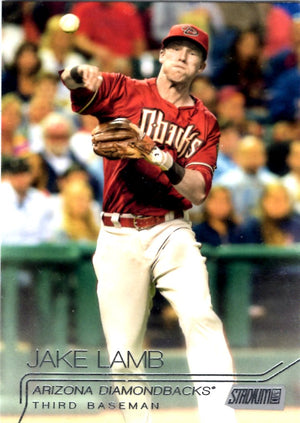 2015 Stadium Club - Jake Lamb #299 - Iconic Relics - Baseball Cards