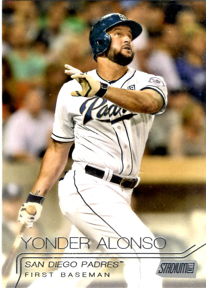 2015 Stadium Club - Yonder Alonso #46
