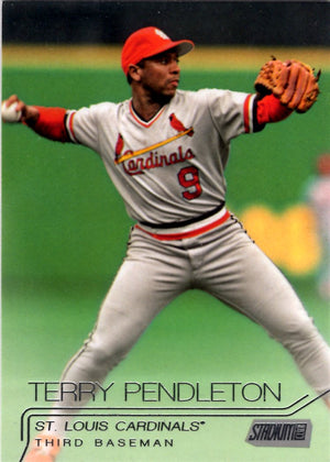 2015 Stadium Club - Terry Pendleton #110 - Iconic Relics - Baseball Cards