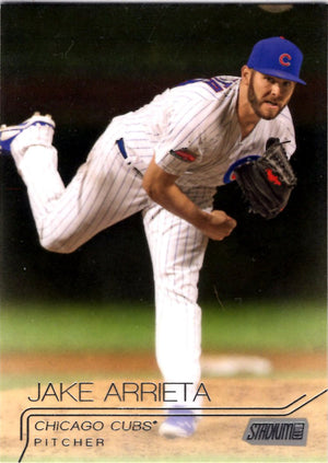 2015 Stadium Club - Jake Arrieta #125 - Iconic Relics - Baseball Cards