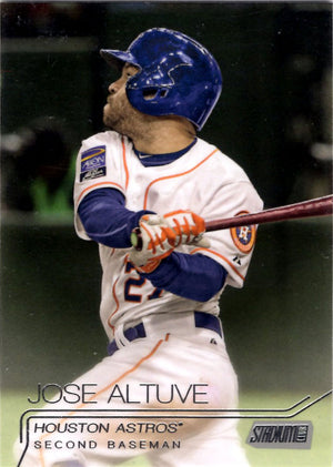 2015 Stadium Club - Jose Altuve #205 - Iconic Relics