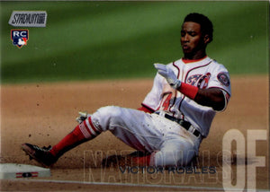 2018 Stadium Club - Victor Robles #37 (Rookie, RC) Baseball Cards - Iconic Relics