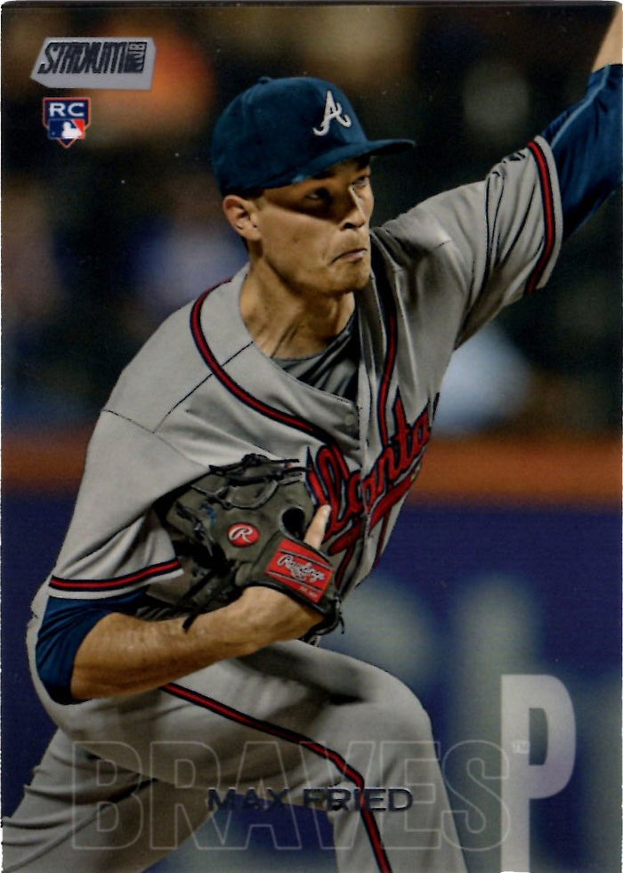 2018 Stadium Club - Max Fried #217 (Rookie, RC)