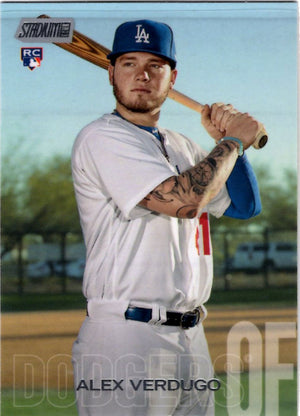 2018 Stadium Club - Alex Verdugo #266 (Rookie, RC) Baseball Cards - Iconic Relics