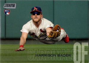 2018 Stadium Club - Harrison Bader #280 (Rookie, RC) Baseball Cards - Iconic Relics