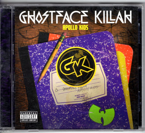 Ghostface Killah - Apollo Kids  CD CDs - Iconic Relics