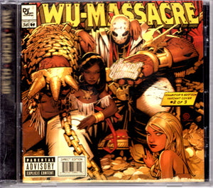 Method Man, Ghostface & Raekwon - Wu-Massacre CD CDs - Iconic Relics