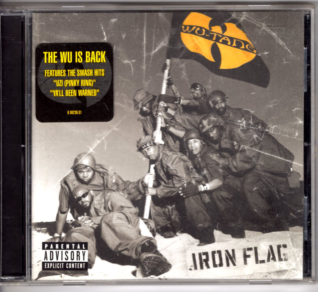 Wu-Tang Clan - Iron Flag CD CDs - Iconic Relics