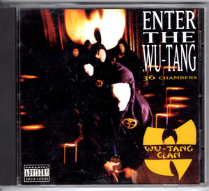 Wu-Tang Clan - Enter The Wu-Tang, 36 Chambers (BMG/Club Release) CD CDs - Iconic Relics