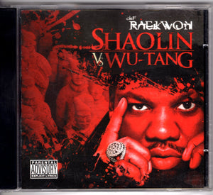 Raekwon - Shaolin Vs. Wu-Tang  CD CDs - Iconic Relics