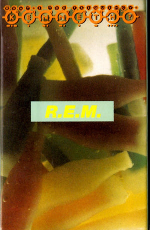 REM - What's The Frequency, Kenneth? Cassette Tape Single Cassettes - Iconic Relics