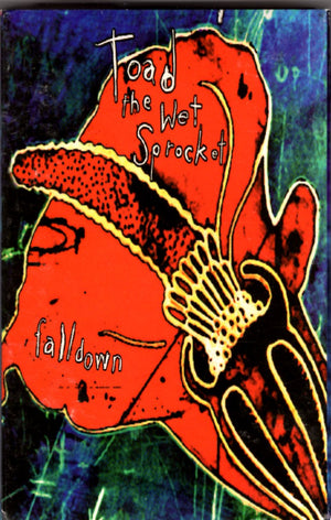 Toad The Wet Sprocket - Fall Down Cassette Tape Single Cassettes - Iconic Relics