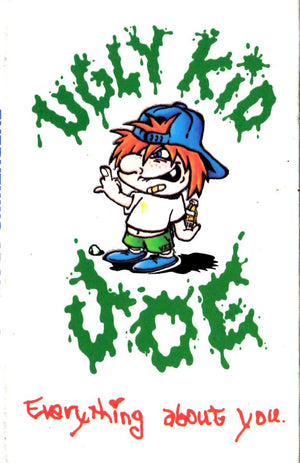 Ugly Kid Joe - Everything About You Cassette Tape Single Cassettes - Iconic Relics