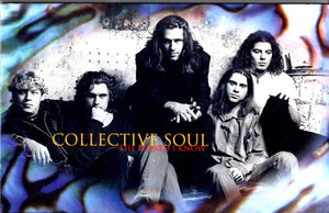 Collective Soul - The World I Know Cassette Tape Single