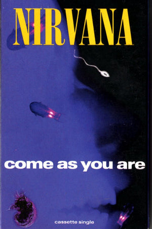 Nirvana - Come As You Are Cassette Tape Single Cassettes - Iconic Relics