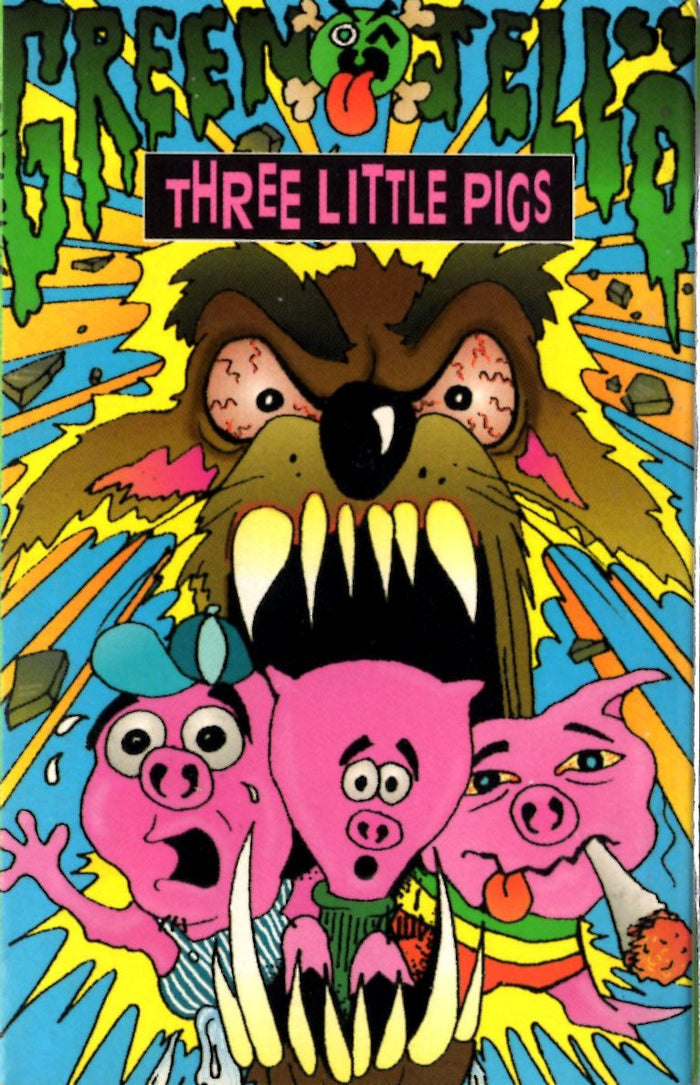 Green Jello - Three (3) Litte Pigs Cassette Tape Single