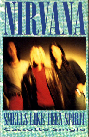 Nirvana - Smells Like Teen Spirit Cassette Tape Single Cassettes - Iconic Relics