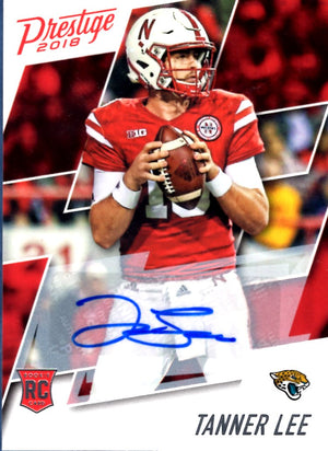 2018 Prestige - Tanner Lee (Autograph, Rookie, RC) #240 Football Cards - Iconic Relics