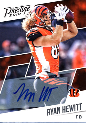 2018 Prestige - Ryan Hewitt (Autograph) #103 Football Cards - Iconic Relics