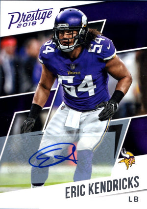 2018 Prestige - Eric Kendricks (Autograph) #155 Football Cards - Iconic Relics
