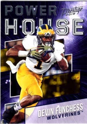 2018 Prestige *Power House* - Devin Funchess #PH - DF Football Cards - Iconic Relics