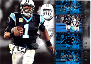2018 Prestige *Highlight Reel* - Cam Newton #HR - CN Football Cards - Iconic Relics