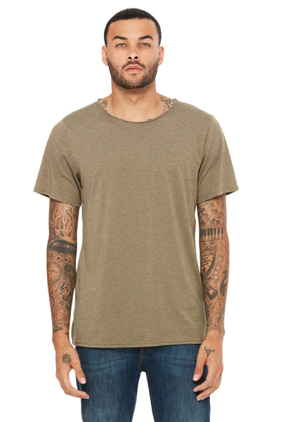 Triblend Raw Neck Tee