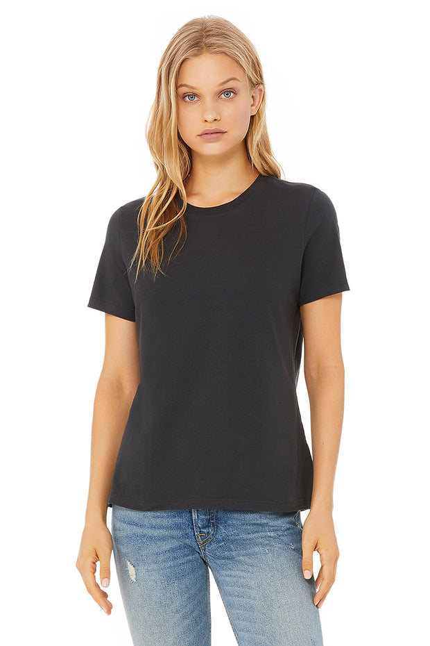 Relaxed Short Sleeve Jersey Tee