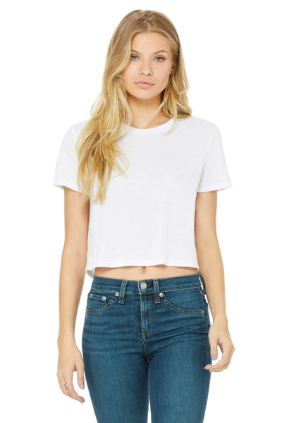 Flowy Cropped Tee