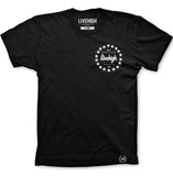 LH.STAR T-SHIRT (BLACK) - LIVEHIGH