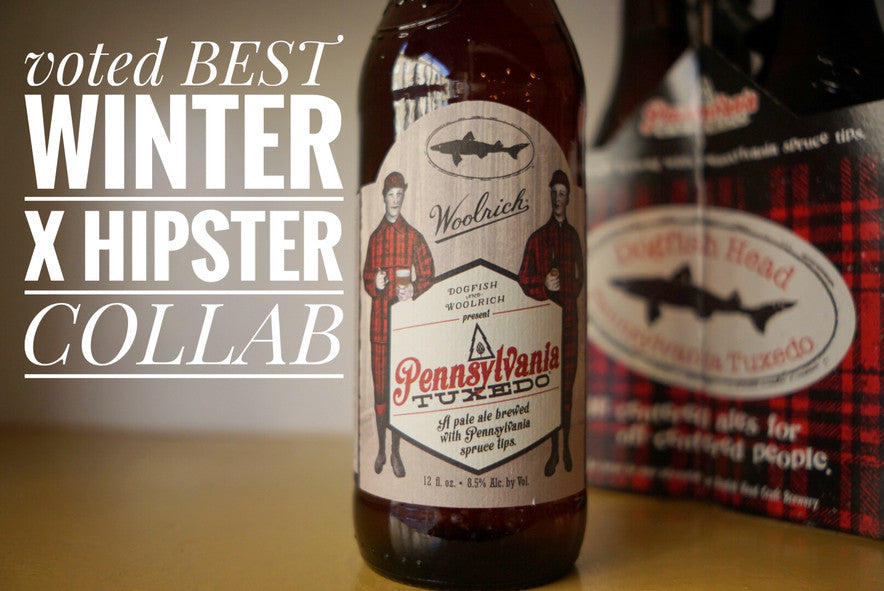 Dogfish Head Woolrich collabe hipster winter beer
