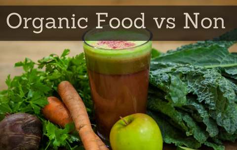 Organic Food versus Non-Organic For Your Health